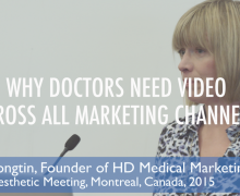 Why Doctors Need Online Video Across All Marketing Channels